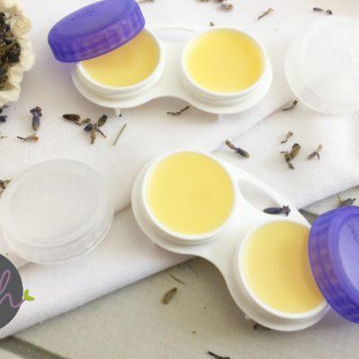 Contact Lens Case Lavender-Mint Lip Balm Recipe