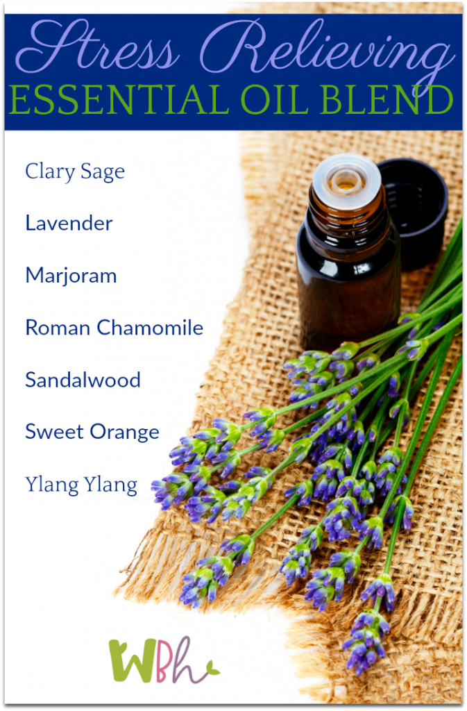 While you'll likely want to experiment with the essential oils that work best for relieving your stress, here is a blend that I've created that works well for me. #aromatherapy #essentialoils #stressrelief