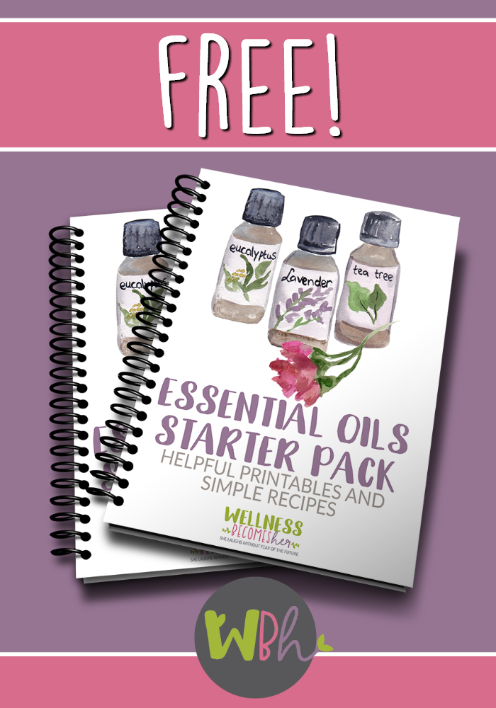 This free Essential Oils Starter Pack contains charts and recipes to make using, learning about and tracking your essential oils easier. #essentialoils #aromatherapy #diffuserrecipes #rollerbottlerecipes #essentialoilrecipes