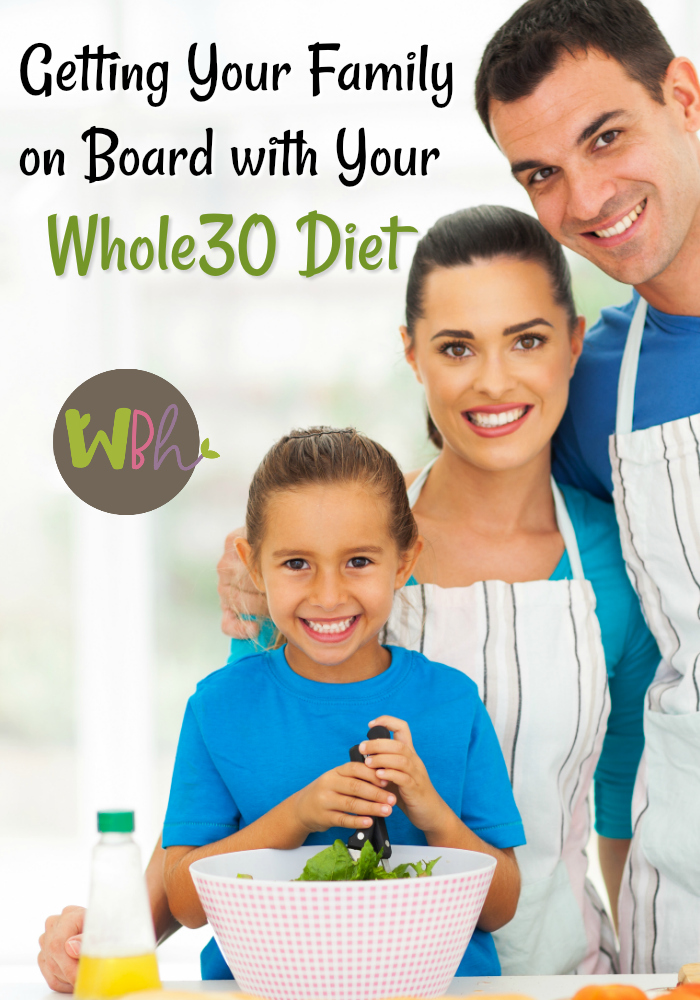 Embracing a new lifestyle is hard, but having the support of your family will make it much easier. Hopefully, that support can come in the form of your family enjoying Whole30 diet meals along with you. #Whole30 #paleo #healthyeating