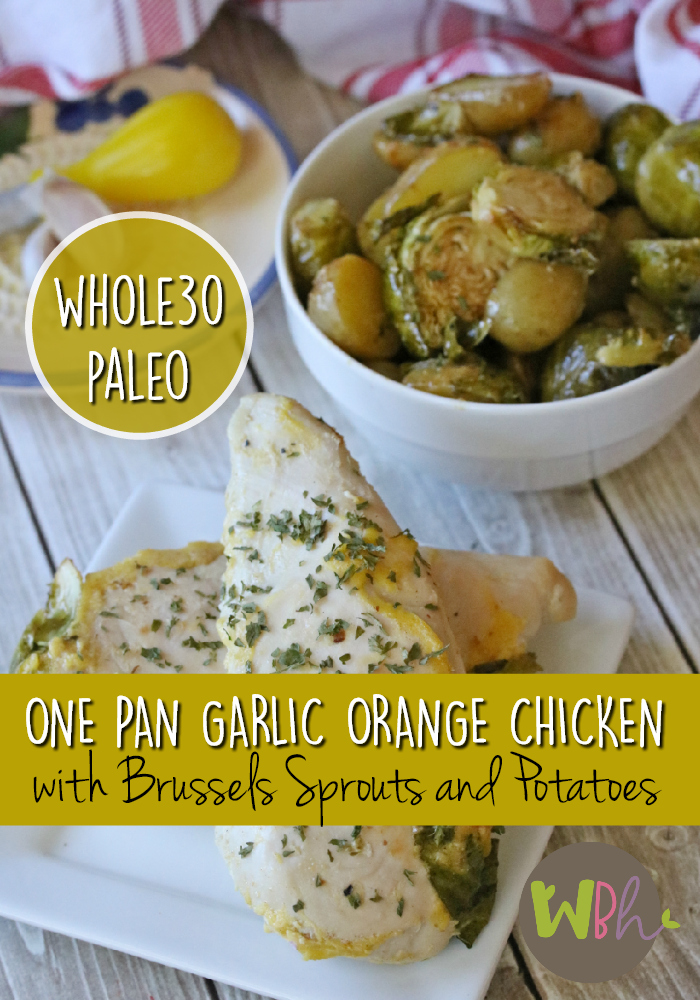 This recipe fits all of the requirements of a simple one-pan meal, plus it will fit in perfectly with your Whole30 or Paleo lifestyle. Not eating Whole30 or Paleo? No worries. You'll still love it and so will your family! #whole30 #recipes #paleo