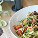 Spicy Zucchini Noodles Recipe (Whole30, Paleo, Vegan)