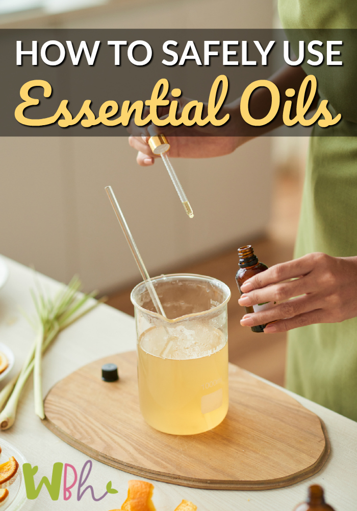 There are a LOT of issues to consider when it comes to the safe use of essential oils. Here you'll find some tips for how to use essential oils safely. #essentialoils #aromatherapy #wellnessbecomesher #wellness