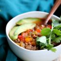 Instant Pot Taco Soup Recipe (Whole30, Paleo, Gluten-free)