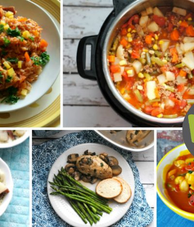 30 Days of Gluten-free Instant Pot Recipes (free printable and clickable meal plan)
