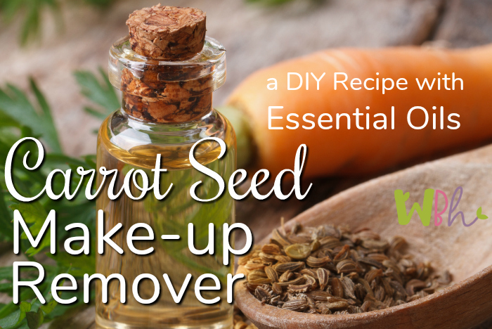 Bring that youthful look back to your face with this nourishing carrot seed make-up remover. #essentialoils #aromatherapy #DIYskincare