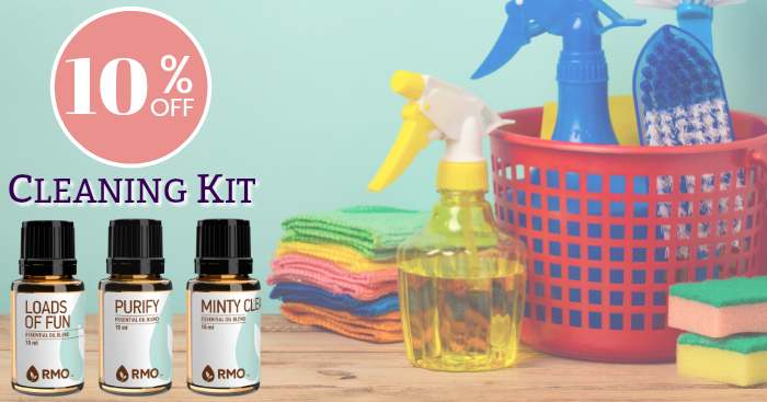 10% off Cleaning Kit from Rocky Mountain Oils