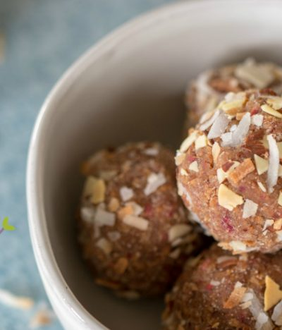 Coconut Almond Energy Balls (Paleo | Whole30 | Gluten-free)
