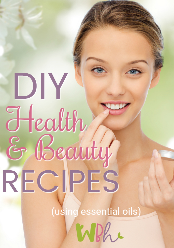 It is said that by the time most of us leave the house in the morning, we have used more than 200 chemicals on our bodies that are banned in most other countries. A healthier option is to make your own DIY health and beauty recipes! #essentialoils #aromatherapy #DIY #healthandbeauty