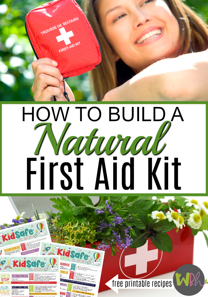 With few exceptions, you can replace nearly every product in your first aid kit with a healthier natural first aid kit using natural ingredients. From antibacterial ointments to steroid creams, insect repellents, and sunburn sprays, this article will help you treat all of your minor first aid needs with safer (and sometimes even more effective) products using essential oils. #essentialoils #aromatherapy #EOrecipes #firstaidkit #naturalfirst aid