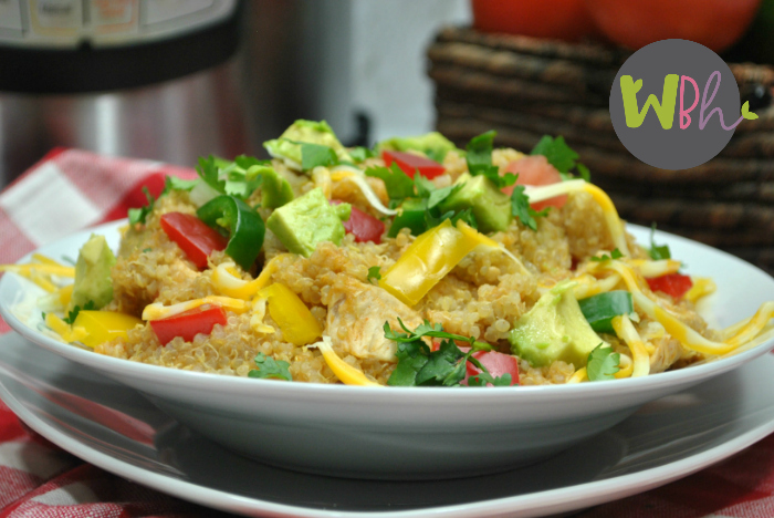 Weight Watchers Freestyle Instant Pot Mexican Quinoa Recipe (gluten-free)