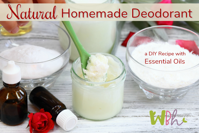 Reduce the risk of breast cancer by making your own natural homemade deodorant with essential oils! #essentialoils #aromatherapy #naturalDIY