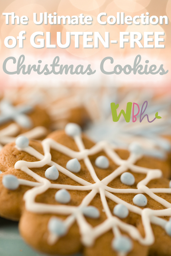 Enjoy this Ultimate Collection of Gluten-free Christmas Cookies great for baking all your favorites but with a gluten-free recipe twist. Make as gifts or for your own holiday table. #christmascookies #cookierecipe #glutenfreerecipes #glutenfreechristmas