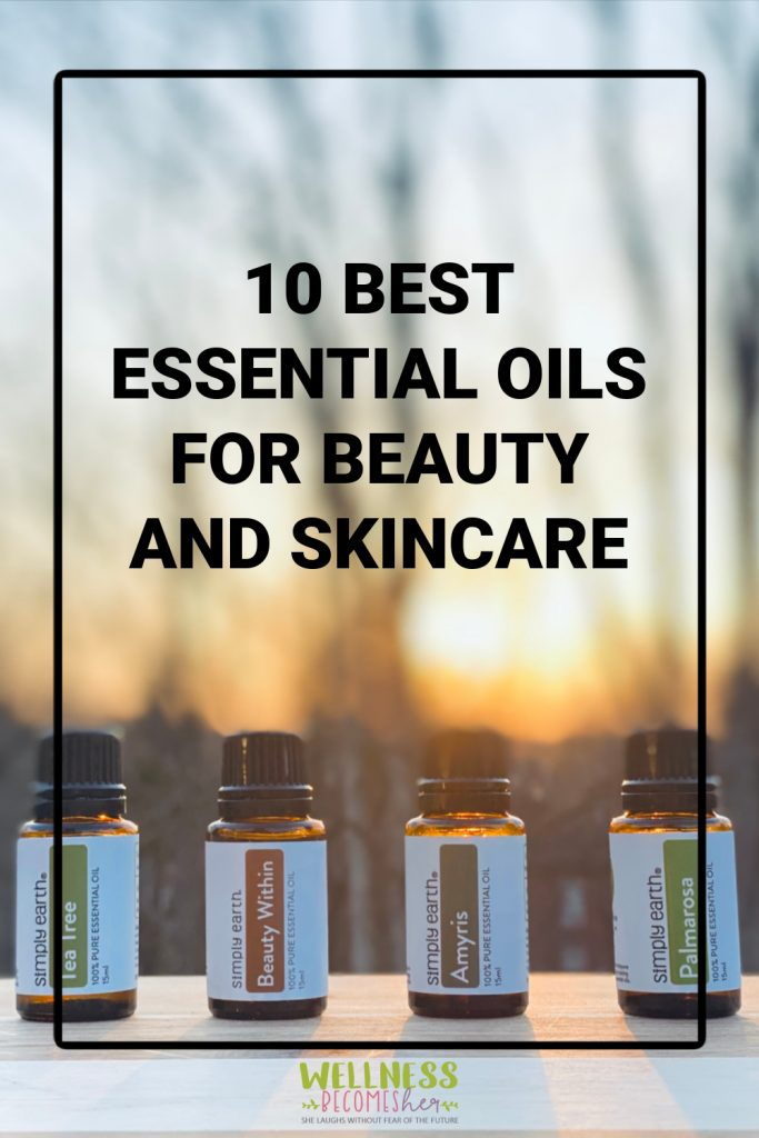 If you have dry skin, oily skin, or are looking to slow down the signs of aging… there's an oil for that! Here are the best essential oils you can easily incorporate in your daily beauty regimen. #essentialoils #aromatherapy #naturalskincare #beautyandskincare #DIYskincare